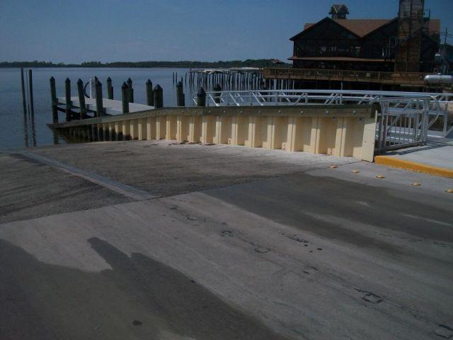 Cedar Key Marina Gulf Side Boat Ramp Cabot Construction